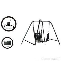 Swing Chair Game Oversized Reading Two Layers Leather Sling Sex Hammock Bed And Pillow Adult Toy Chaise Chairs Indoor Cheap Lounges From