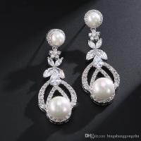 Pearl Wedding Earrings Vintage | www.pixshark.com - Images ...