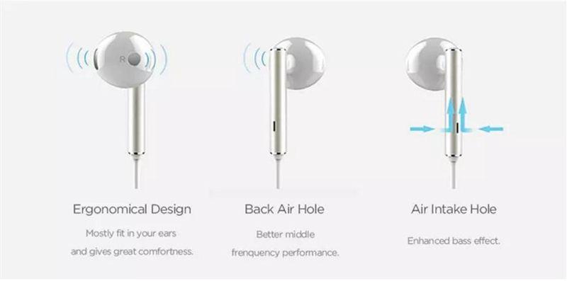 High Quality Smartphone Earphones Metal Stereo Earphones