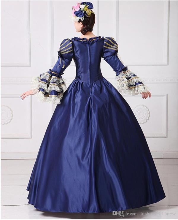 Marie Antoinette Dress Civil War Southern Belle Gown 2017