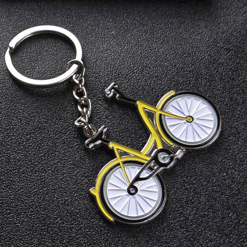 metal small yellow bike