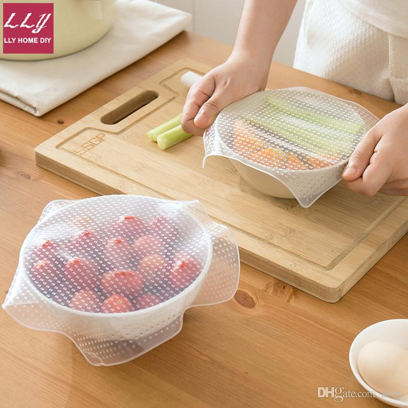 amazing kitchen gadgets pictures of country french kitchens reusable silicone bowl wraps utensils cover food stretch lid fresh seal wrap covers 50 useful