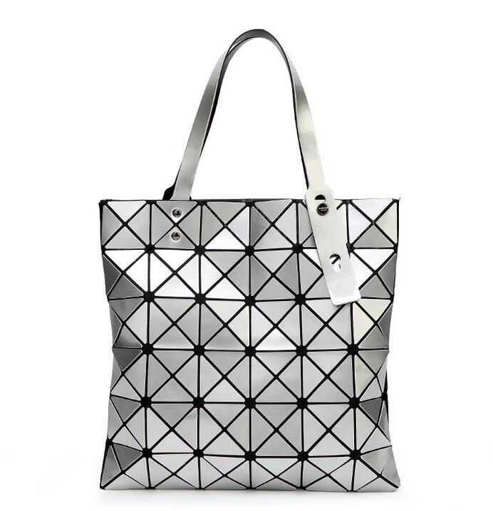 Fashion Lady Origami Art Geometry Handbag Women Lucent