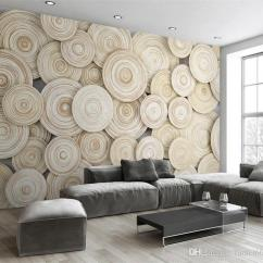 Living Room Online French Style Decorating Ideas Large Custom Mural Wallpaper Modern Design 3d Wood Texture Tv Background Wall Decorative Art Covering Landscape