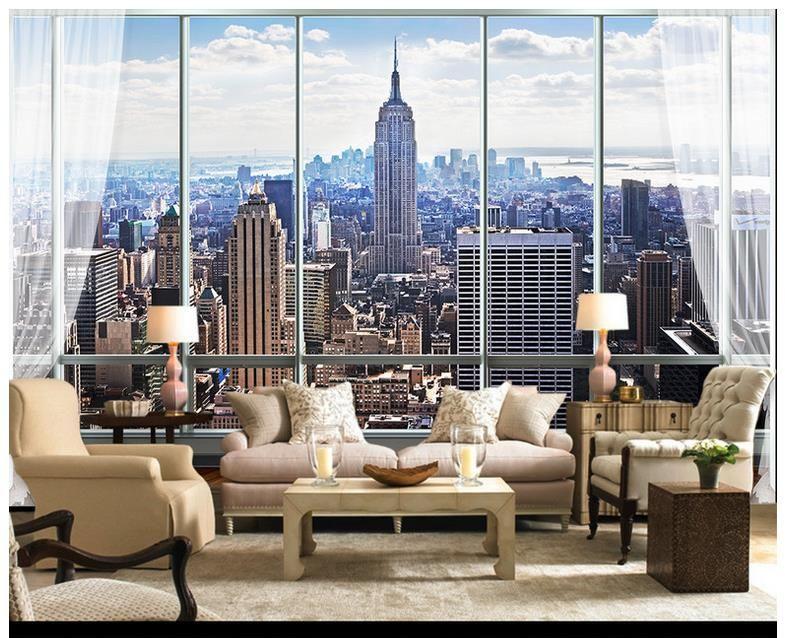 Großhandel 3D Fototapete Benutzerdefinierte Wandbilder Tapete