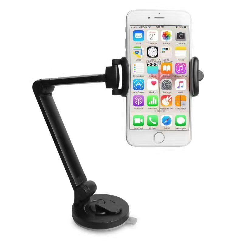 smartphone support titulaire de telephone paresseux de bras de col de cygne support de telephone portable de bureau reglable berceau de support avec