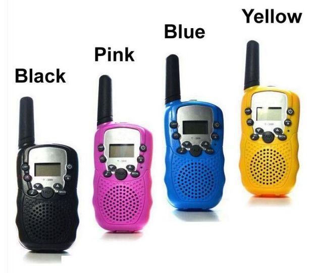 T388 Children Radio Toy Walkie Talkie Kids Radio Uhf Two Way Radio T 388 Childrens Walkie Talkie Pair For Boys And Girls Gift 2 Way Walkie Talkie Best