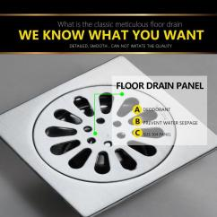 Kitchen Sink Drain Catcher How To Paint Your Cabinets Best Quality Drains Floor Linear Shower ...