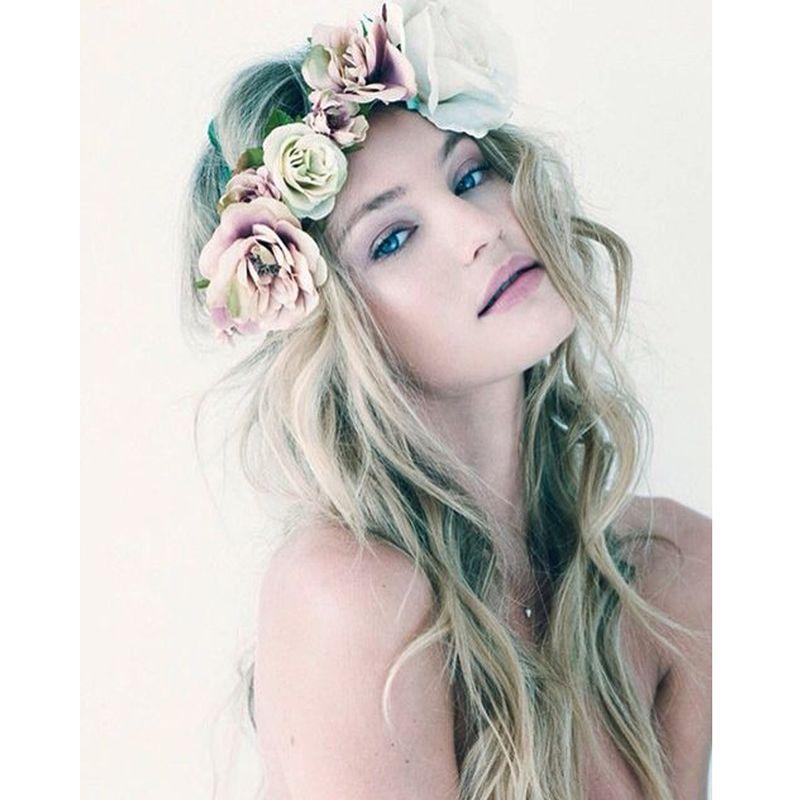 bohemia handmade flower crown