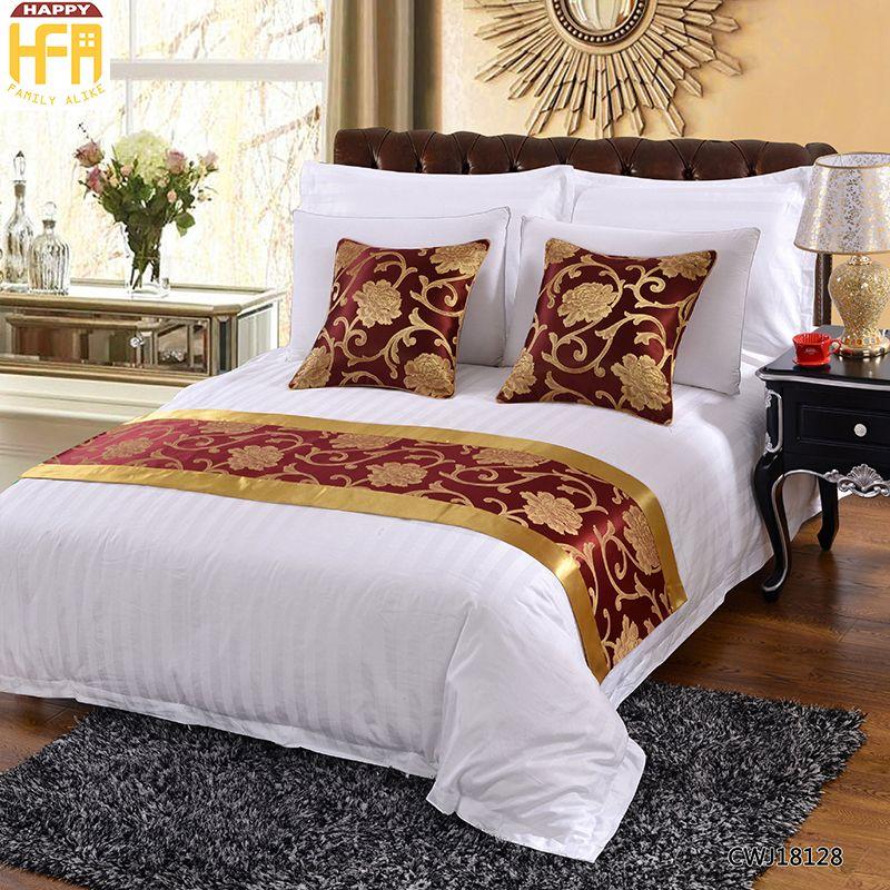 2019 50180Cm Hot Sale Bed Runner Bedding Set Refreshing