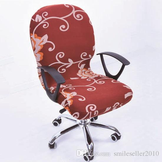 chair covers office seats stackable chairs for less elastic seat computer stretch rotating cover desk payment