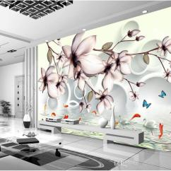 Living Room Art Decor Drawers 3d Flower Wallpaper Murals Wall Print Decal For Bedroom Decoration Landscape Floral Top Rated Wallpapers High