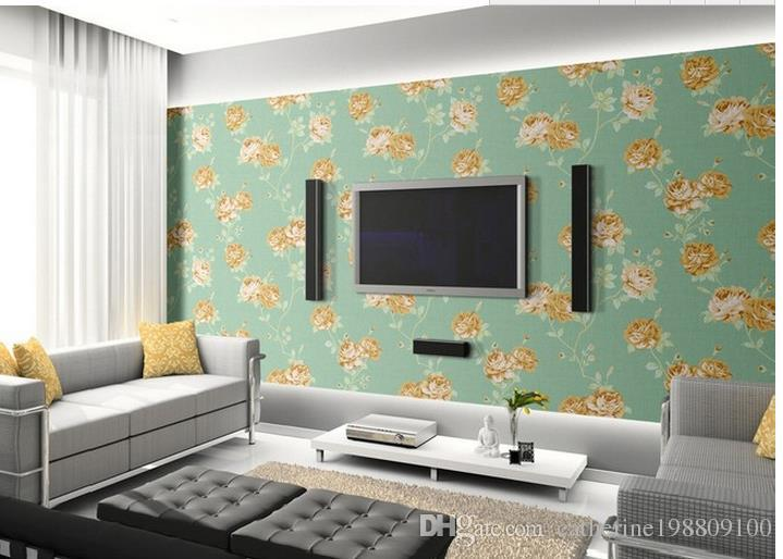 blue modern living room wall painting for home decor natural art light fashion garden tclassic top classic 3d european style high quality customize size