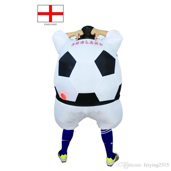 2017 Soccer Inflatable Costume Football Halloween