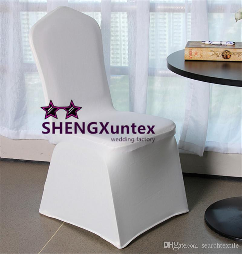 white linen chair covers for sale diy ball spandex cover wedding flat front lycra stretch dining chairs from searchtextile
