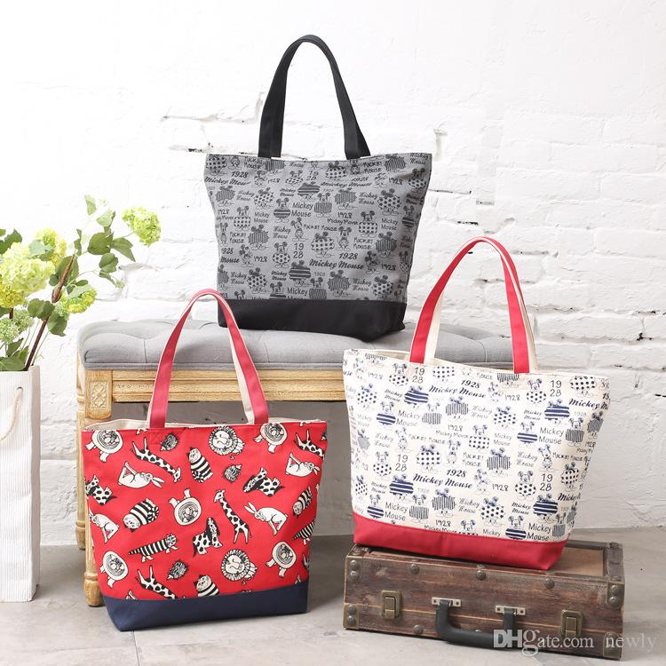 fashion canvas grocery tote