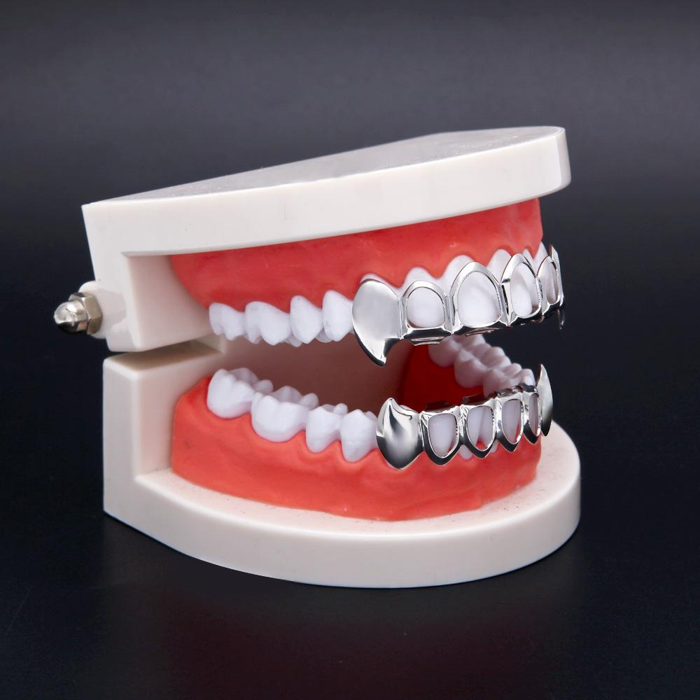 Discount New Hip Hop Custom Fit Grill Four Hollow Open