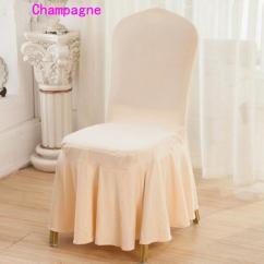 Chair Covers For You Rush Seat Chairs Dhl Lycra Spandex Dining Cover Skirt Wedding Party Banquet Hotel Decoration Good Quality Several Colors Parson