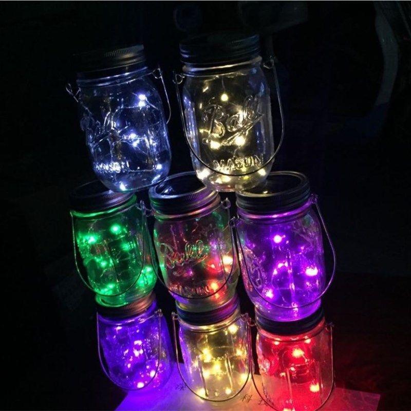 Ball Jar Led Light Lid Insert