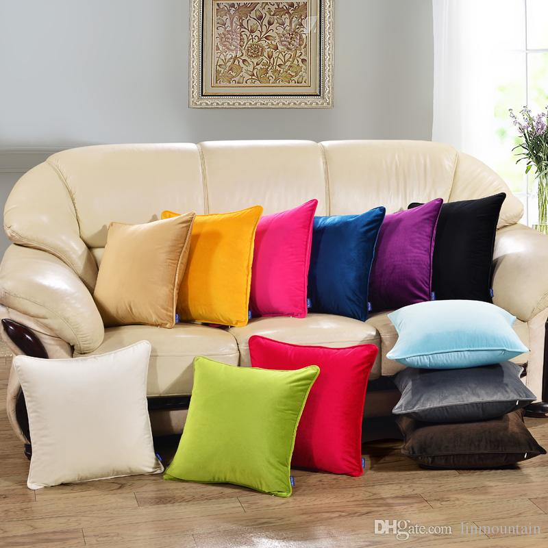 100 polyester sofa throws rowe martin sleeper 45 45cm home throw pillowcase pure color white pillow cover cushion decor case blank christmas gift patio furniture