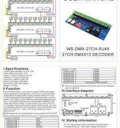 30 channel 27channel easy dmx led controller dmx decoder driver [ 1200 x 1623 Pixel ]