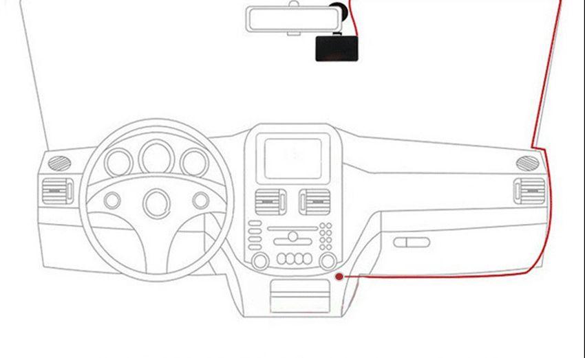 NEW Top Sale Car DVRs 2.5'' Car Dash Cams Car DVR Recorder