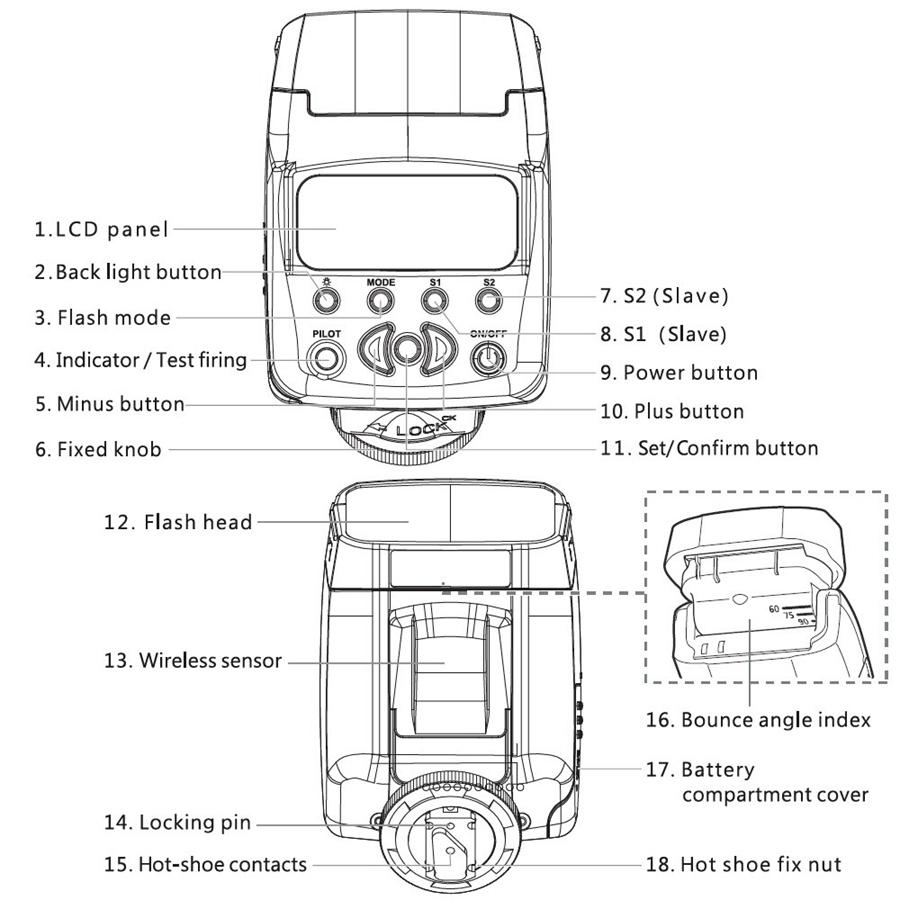 2019 New Viltrox JY 610 II Univeral On Camera Mini Flash