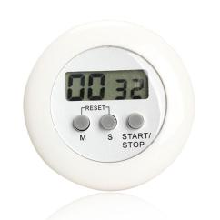Digital Kitchen Timers Target Furniture Round Magnetic Lcd Countdown Timer Alarm With Stand White Practical Cooking Clock