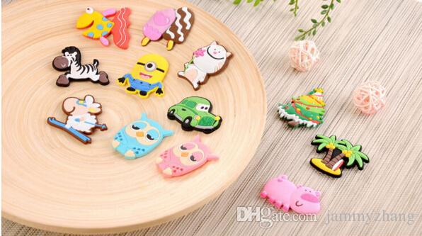 kitchen magnets purple decor creative giraffe owl cat pig fish sheep fridge for kids silicon gel magnetic magnet animal just from