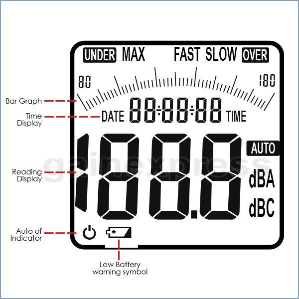 SLM-24 Professional Decibel Meter Tester Digital Sound