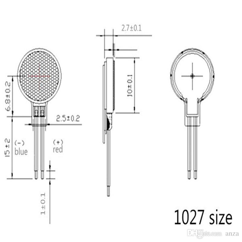 Wholesale Price Vibration Motor Flat Button-type Moteur 10