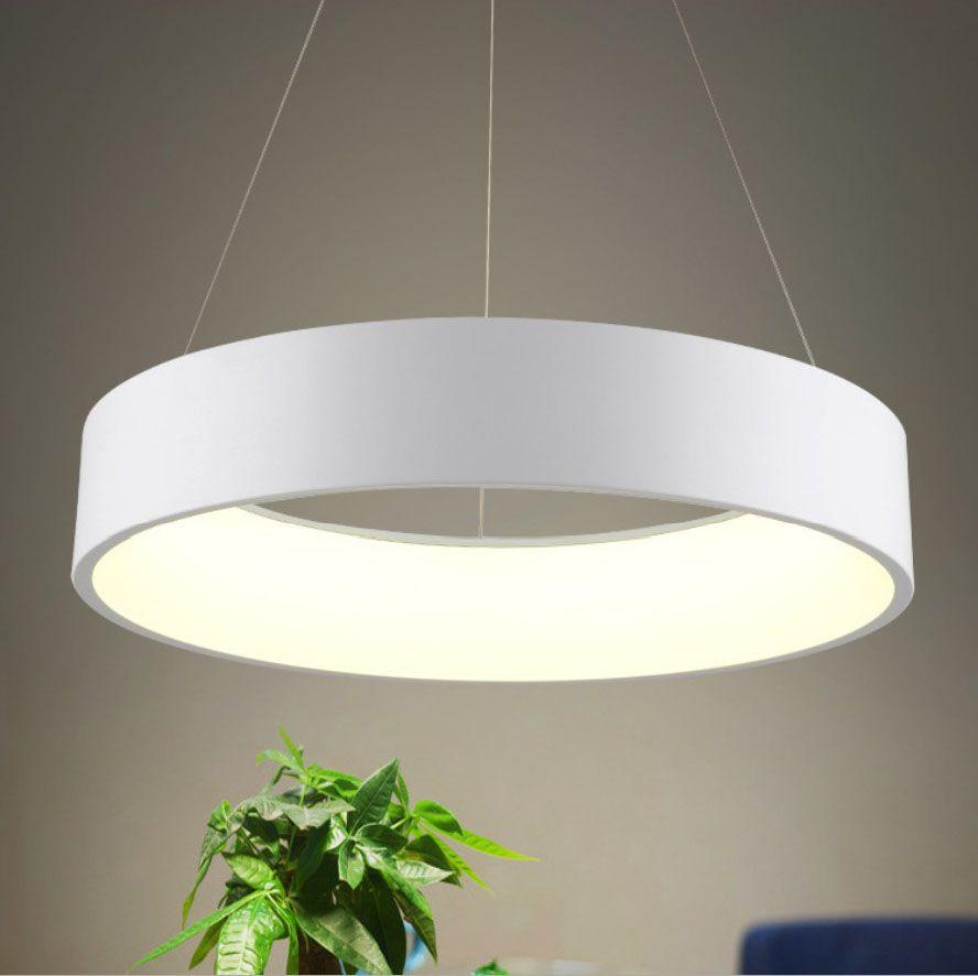 Compre Lmpara Colgante LED Redonda Moderna es D45cm D60cm