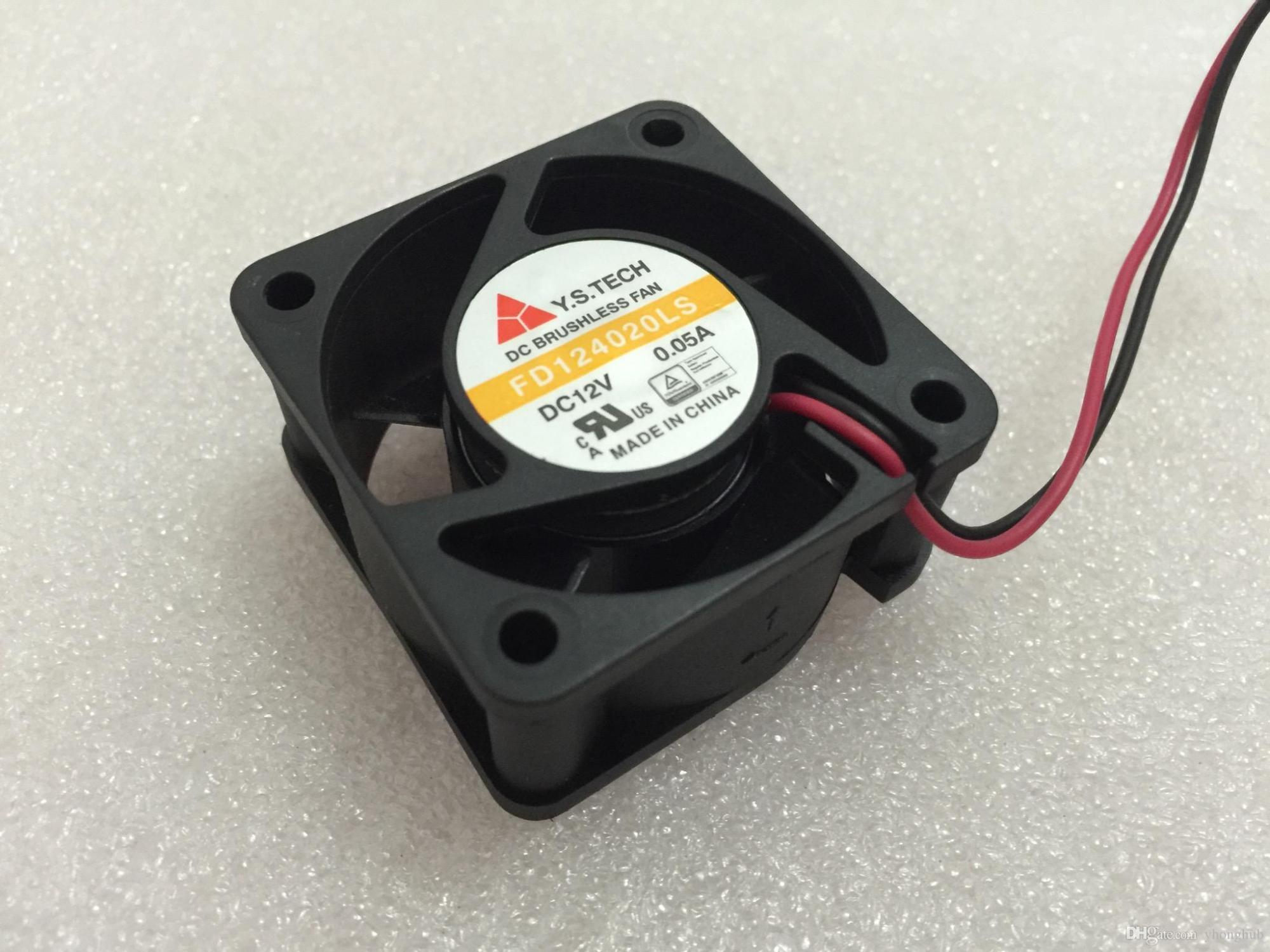 hight resolution of 2018 y s tech fd124020ls dc 12v 0 05a 2 wire 2 pin connector 60mm 40x40x20mm server square cooling fan from yhonghub 14 09 dhgate com