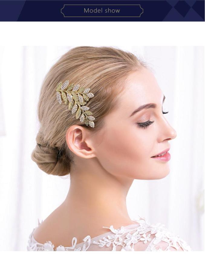 claw hair clips leaf hair accessories bridal hair accessories best wholesale products china market online free shipping