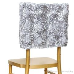 Grey Christmas Chair Covers Oxo Tot Seedling High New Spandex Design 3d Satin Rosette Lycra Cover Hotel 1 Custom Made Or In Stocking 2 Mix Order Wholesale Size Fit Most Banquet Style For Wedding Event Banqurt And Party