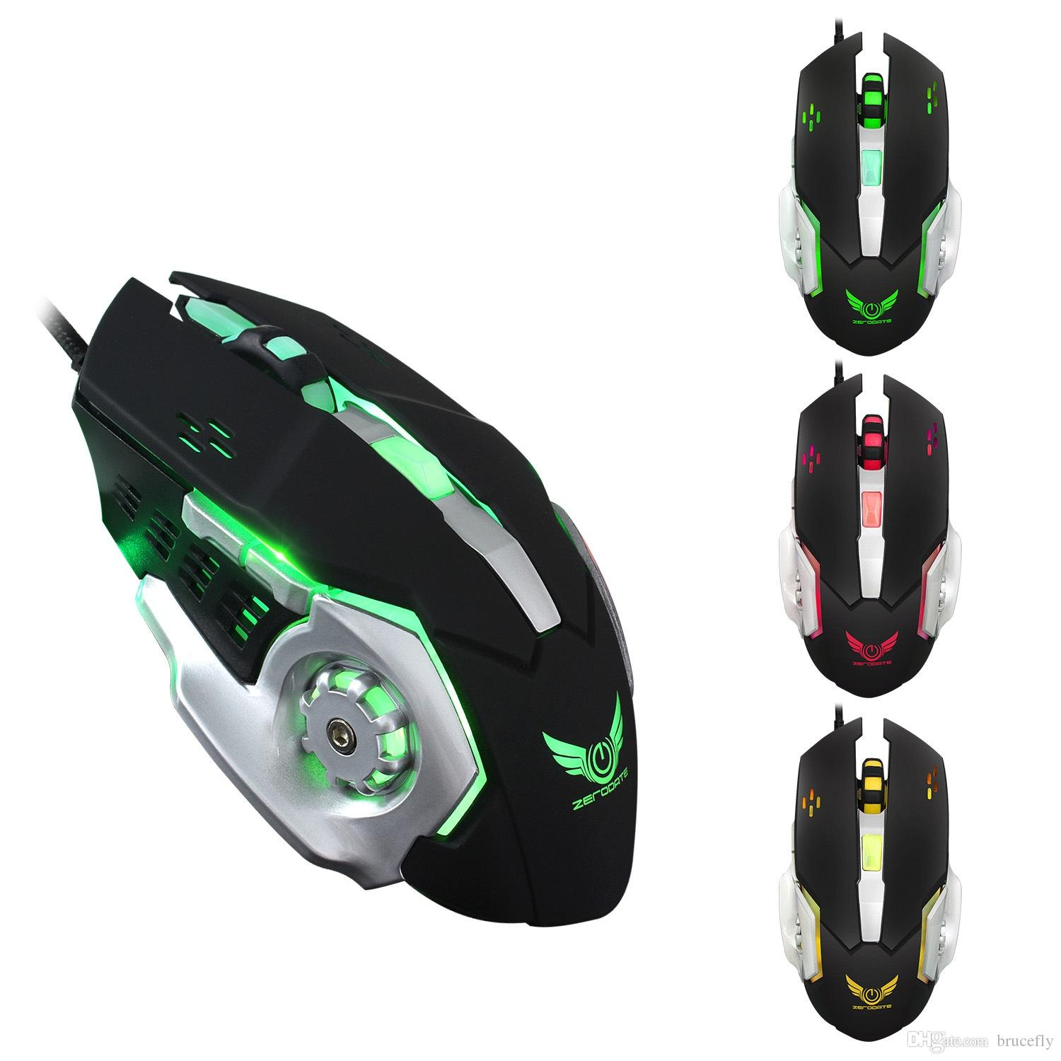 hight resolution of 2018 mechanical mice professional wired gaming mouse 6 button 5500 dpi mice colorful led optical usb computer mouse gamer mice x500 free dhl from brucefly