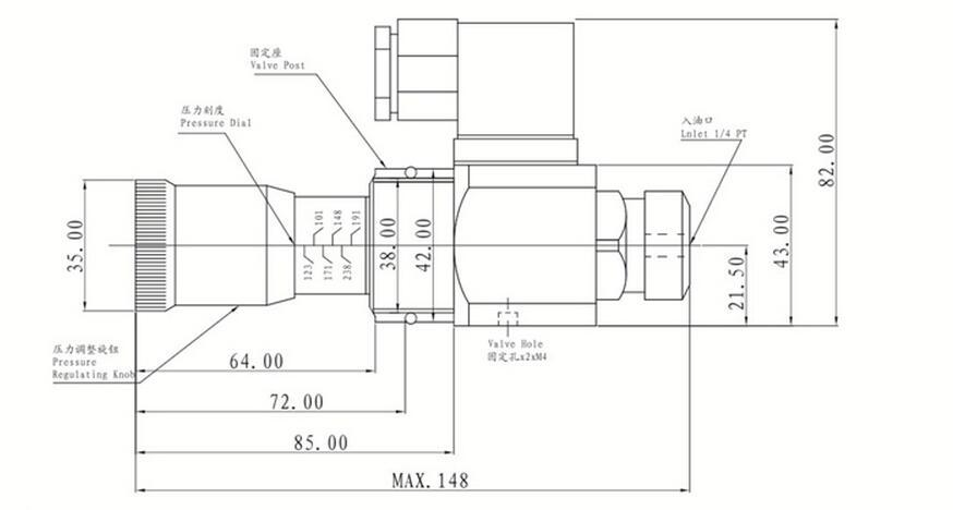 High Quality Manufacture Hydraulic Pressure Switch Valve