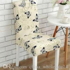 Affordable Chair Covers Dining Table Target Spandex Elastic Vintage Butterfly Beautiful Flowers Pattern Dustproof Stretch Modern Party Seat Cover Loose From China Wholesale14 3 39 Dhgate