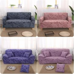 Cotton Recliner Chair Covers Design Drawing Elastic Sofa Cover Slipcovers All Inclusive Couch Case For Different Shape High Quanlity Solid Color European Style To Hire