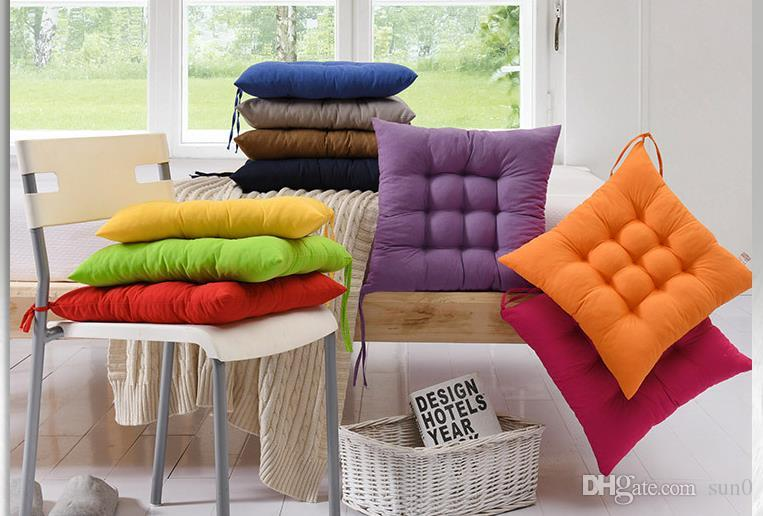 wholesale chair cushions samsonite card table and chairs set new pure color abrasive cushion office warm pillow student direct factory price dhgate professional shop lowest top quality welcome to retail you can mix any items together from my