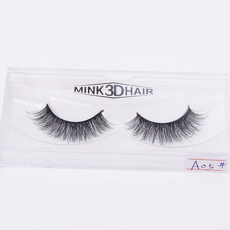 3D Mink Eyelashes Eye Makeup Mink False Lashes Soft