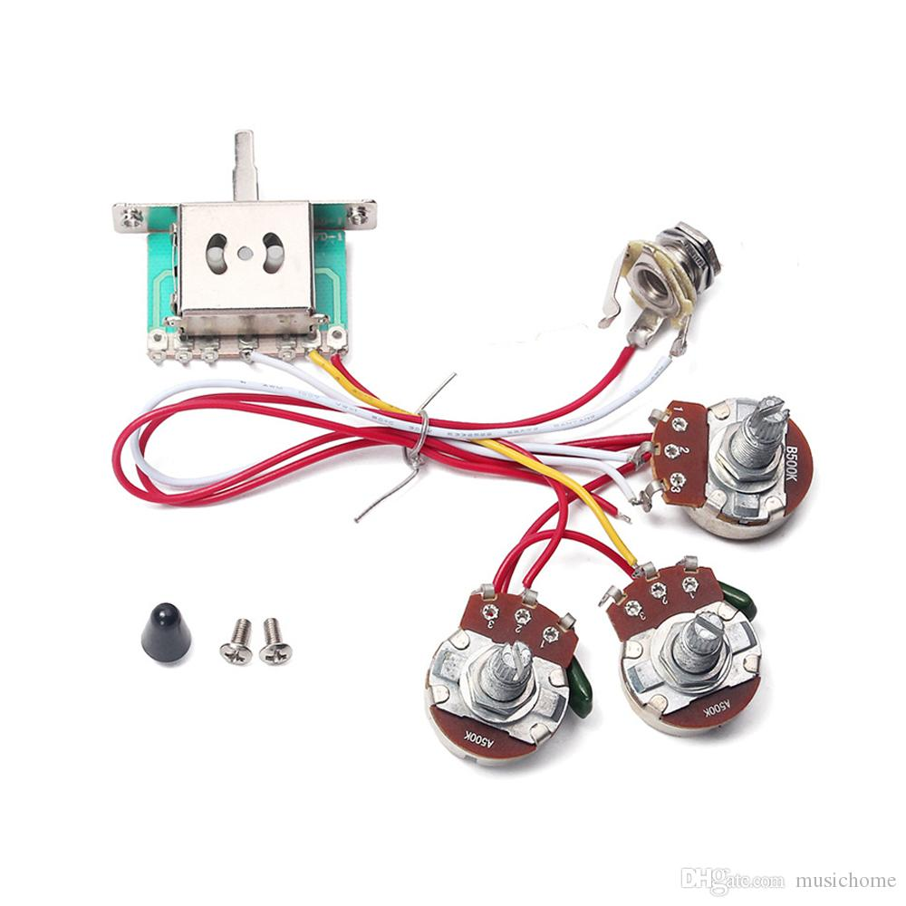 hight resolution of 2019 electric guitar wiring harness 5 way toggle switch 2 tone for toggle switch wiring harness