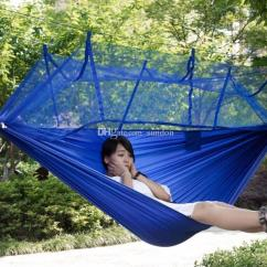 Hanging Chair Double Spandex Covers Black 2019 Outdoor Furniture General Use Military Hammocks Portable Hammock Bed Swing Parachute With Mosquito Net From Sundon