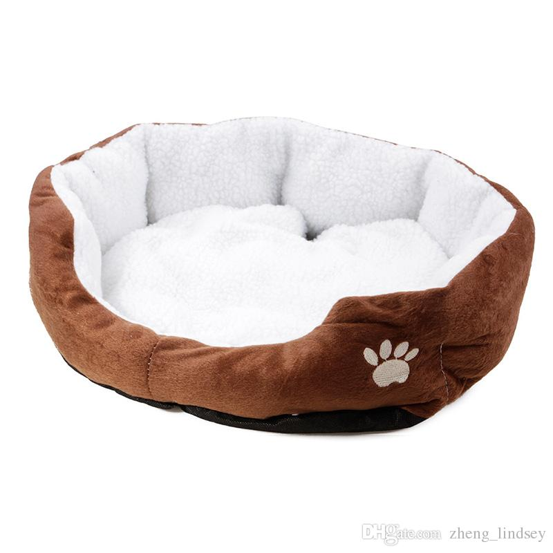 soft sofa dog bed 3 piece microfiber sectional 2019 warm paw print pet beds waterproof cashmere house fashion kennel for cat puppy from zheng lindsey 17 54 dhgate com