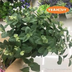 Artificial Plants For Living Room Small With Sectional Couch 2019 Simulation Grenn Grass Wintergreen Home Decoration Furnishings Art Eucalyptus Flowers From Wonderlandonline