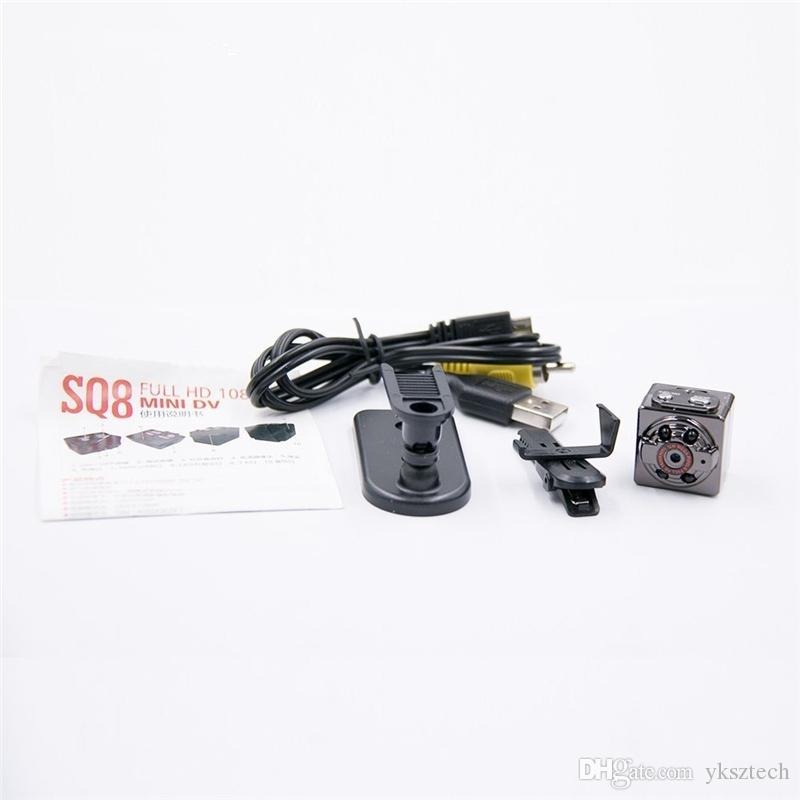 SQ8 Mini Camera 1080p 720p HD Dashcam Night Vision Home