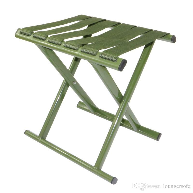 folding chair nylon best home office military green stool widen belt fishing high strength carbon steel tube chairs durable 10 5xr b camping table and patio dining