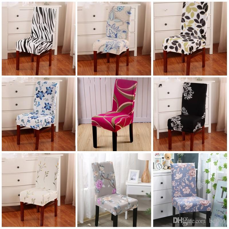 dining chair covers in store air horn office prank christmas dustproof cover wedding party hotel removable elastic chairs polyester fiber home seat slipcover 10zl hh online