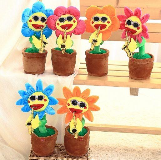 dancing singing flower cute