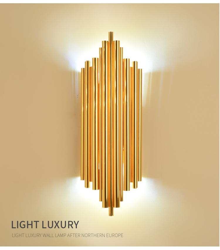 Stair Wall Art 2019 New Art Deco Wall Lamp Modern Wall Light Dia18*h40cm